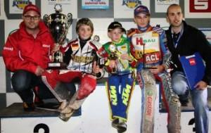 Unsere Meister 2012: Lukas Wegener (Junior A) Mike Jacopetti (Junior B) Michael Härtel (Junior C)