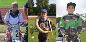 Unsere Meister 2013: Melf Ketelsen (Junior A) Darrel de Vries (Junior B) Ethan Spiller (Junior C) Fotos: Kerstin Rudolph