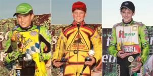Unsere Meister 2011: Tim Wunderer (Junior A) Lukas Fienhage (Junior B) Daniel Spiller (Junior C)