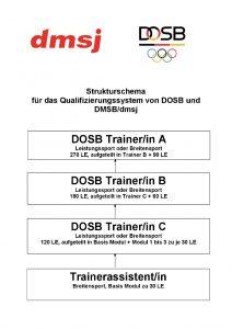 Strukturschema Trainerausbildung