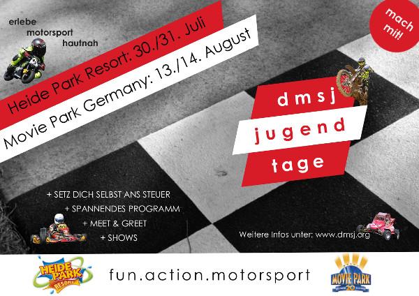 dmsj-Jugendtage 2016 Banner