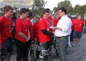 Deutscher Jugend-Motoball Meister 2011 Jugendmannschaft des MSC Taifun Mörsch