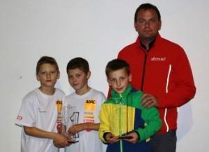 Unsere Meister 2013: Filip Salac (Deutscher Mini Bike Meister, Nachwuchs NSF 100) Ondrej Vostatek (Deutscher Mini Bike Meister, Einsteiger NSF 100) Marvin Siebdrath (Deutscher Pocket Bike Meister)