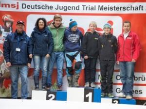 Unsere Meister 2013: Manuel Lettenbichler (Deutscher Jugend Trial Meister) Florian Resch (Deutscher Jugend Trial Cup) Tobias von Baer (Deutscher Jugend Trial Pokal) Andreas Keck (Deutscher Schüler Trial Pokal)