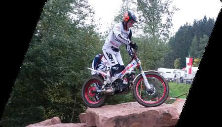 Nachwuchs Motorradsport - Trial