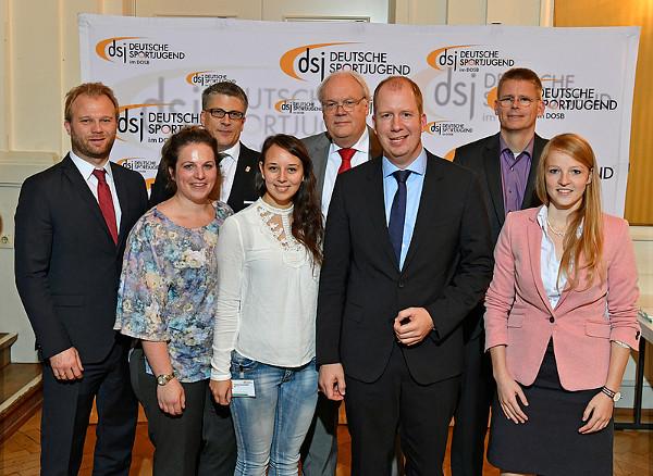 Gruppenfoto dsj-Vorstand