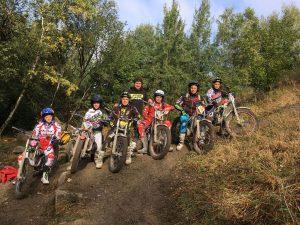 Gruppenfoto Junior-Team Trial