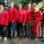 Heiko Junge, Mario Berger, Manfred Herget (alle Fachberater), Jonathan Ziegler (AG Sportentwicklung), RACY, René Schäfer (dmsj Vorstand Motorradsport)